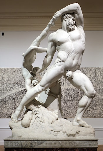 Hercules and Lichas by Antonio Canova