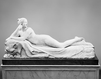 Reclining Naiad by Antonio Canova