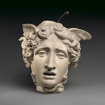 Head of Medusa by Antonio Canova