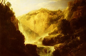 Falls Of Tivoli by William Linton