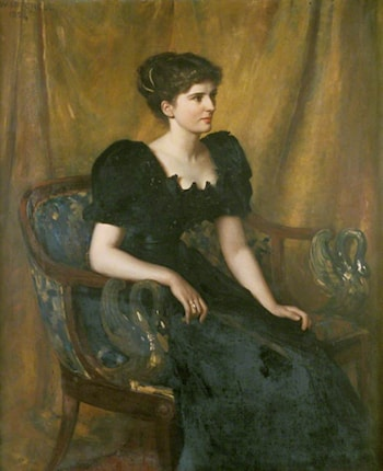 Mrs Mary Niven by Charles William Mitchell