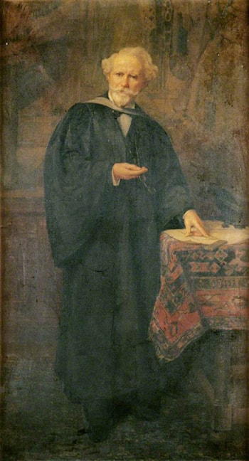 Dr Charles Mitchell (1820–1895) by Charles William Mitchell