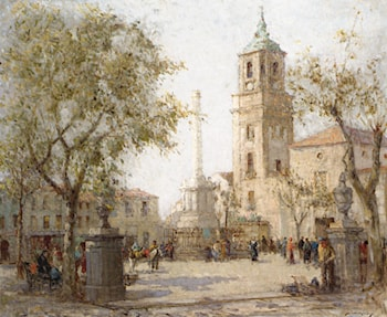 The Cathedral Algeciras by William Lee Hankey, R.W.S.