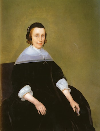 Portrait Of A Lady by Gerard ter Borch