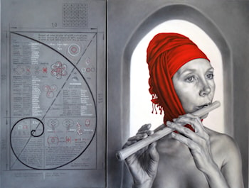 Apocrypha of ARINA-2  (Diptych) by Arina Gordienko