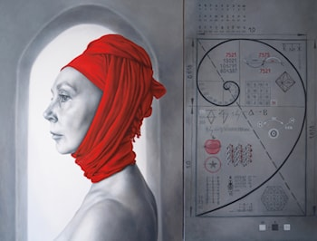 Apocrypha of ARINA-1 (Diptych) by Arina Gordienko
