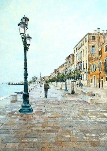 Venice in Daylight by Alan Merris Bell