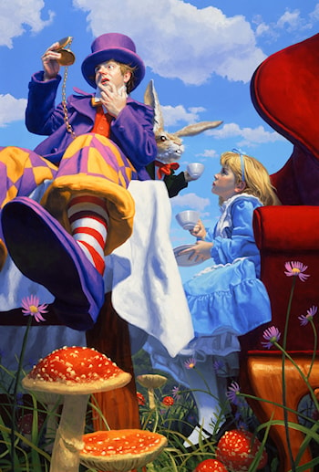 A Mad Tea-party by Gregory Hildebrandt