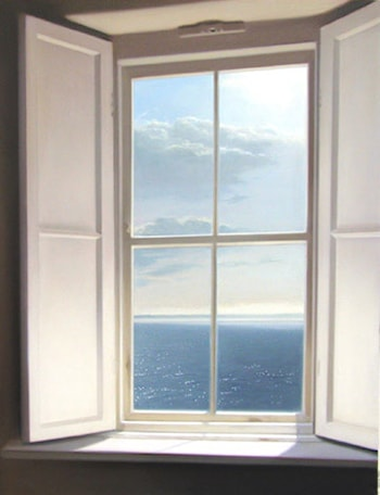 Lighthouse Window by Heidi Palmer