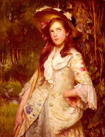 The Young Shepherdess by Lance Calkin