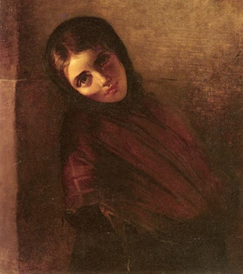 A Young Girl by Elisabeth Baumann