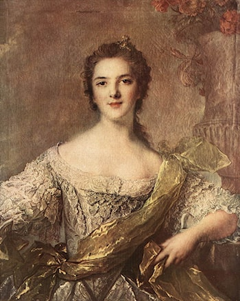 Madame Victoire by Jean-Marc Nattier
