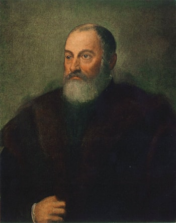 Portrait of a Man by Jacopo Robusti Tintoretto