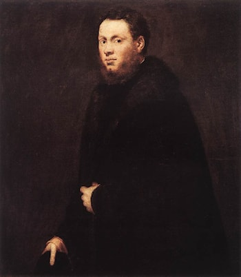 Portrait of a Young Gentleman by Jacopo Robusti Tintoretto