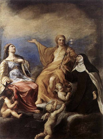 The Three Magdalenes by Andrea Sacchi