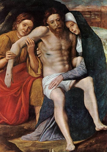 Deposition of the Tears by Giovanni Francesco Caroto