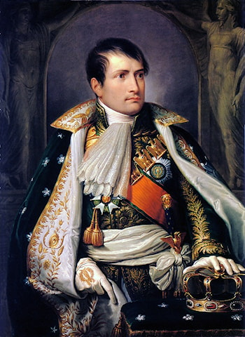 Napoleon, King of Italy by Andrea, the elder Appiani