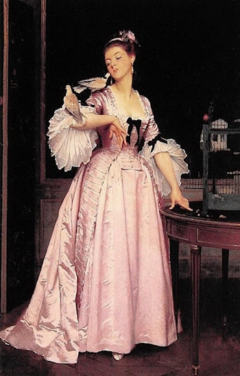 The Love Birds by Joseph Caraud