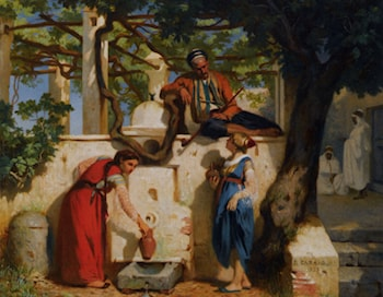 By The Well by Joseph Caraud