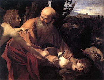 The Sacrifice of Isaac by Caravaggio