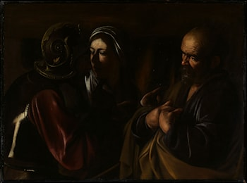 The Denial of Saint Peter by Caravaggio