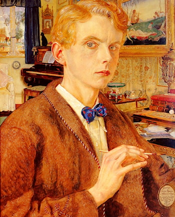 Portrait Of The Artist by George Owen Wynne Apperley