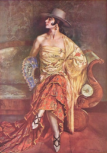 Flamenca by George Owen Wynne Apperley