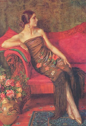 Rosa Granadina by George Owen Wynne Apperley
