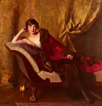 Portrait Of Countess Michael Karolyi by John Quincy Adams