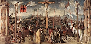 Crucifixion by Michele Da Verona