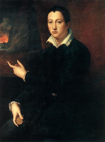 Portrait of a Young Man by Alessandro Allori