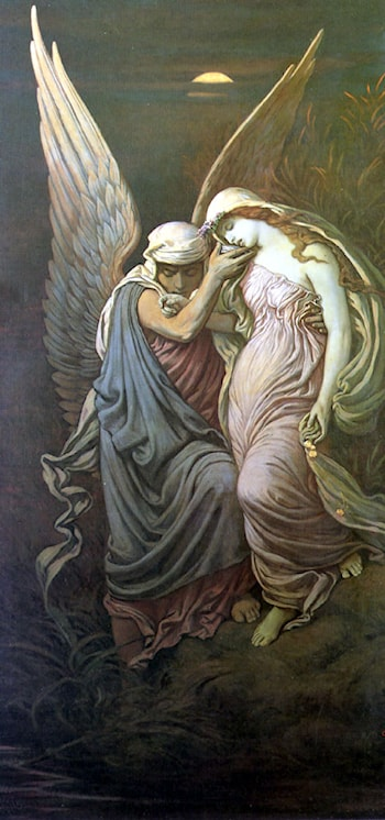 The Cup of Death by Elihu Vedder
