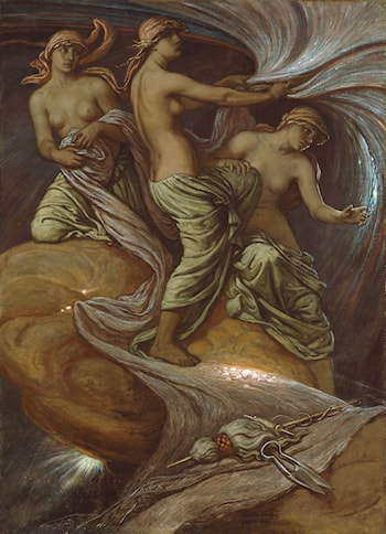 The Fates Gathering in the Stars by Elihu Vedder