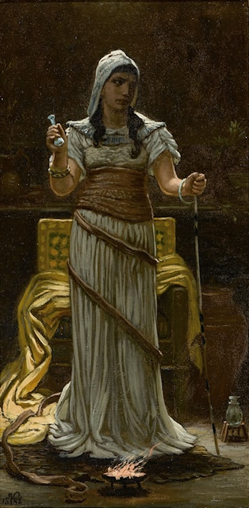 The Etruscan Sorceress by Elihu Vedder