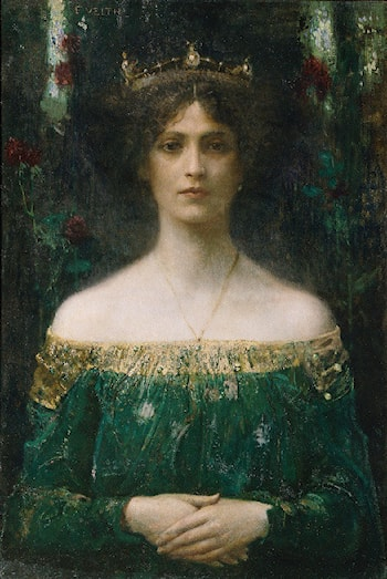 The King's Daughter by Eduard Veith