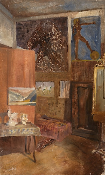The Studio Interior by Eduard Veith