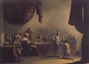 Salome Presented with the Head of St John the Baptist by Leonaert Bramer
