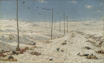 The Road of the War Prisoners by Vasily Vereshcagin