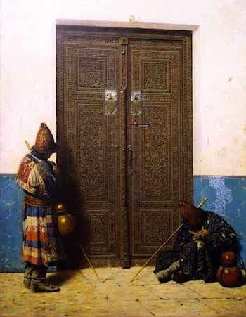 The Doors of the Mosque by Vasily Vereshcagin