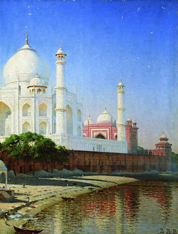 Taj Mahal by Vasily Vereshcagin