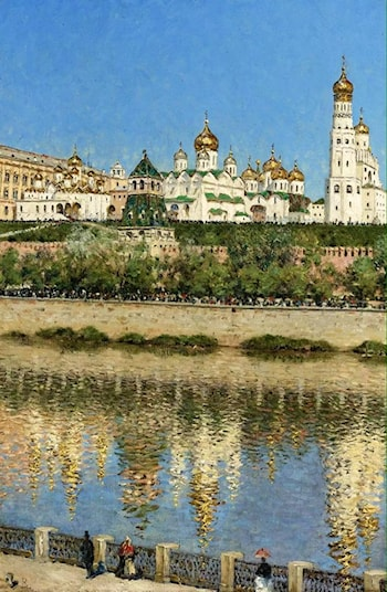 View of the Kremlin by Vasily Vereshcagin