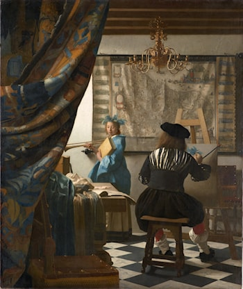 The Art of Painting by Johannes Vermeer