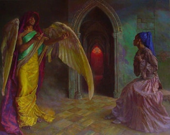 Annunciation by Dan Thompson