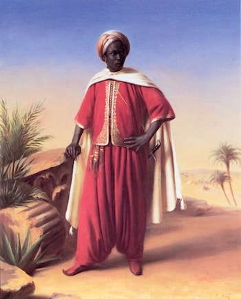 Portrait of an Arab by Horace Vernet