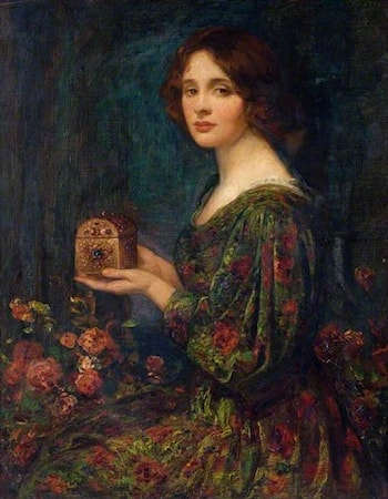 The Jewelled Casket by Thomas E. Mostyn