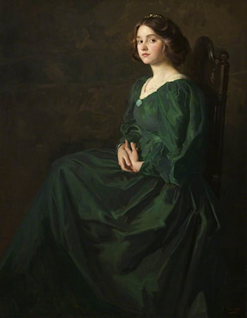 The Green Gown by Thomas E. Mostyn