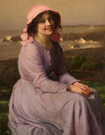 A Fisherman's Daughter by Thomas E. Mostyn