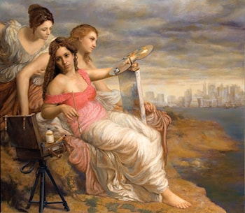 Rebirth of Painting by Cesar Santos