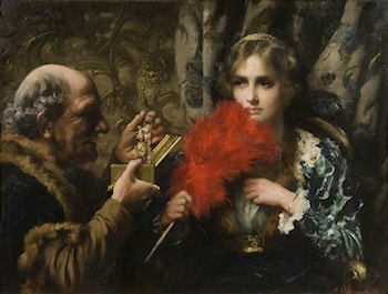 Temptation by Thomas Benjamin Kennington