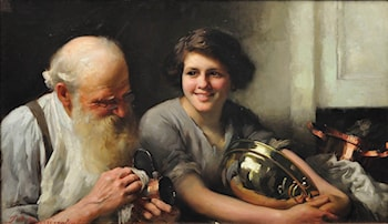 A Merry Heart Goes a Long Way by Thomas Benjamin Kennington